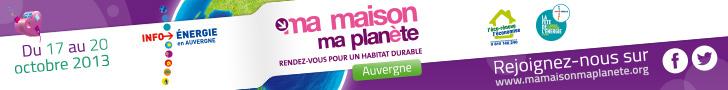 """Banière """"Ma maison ma planète"""""""