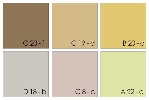 Peinture Gris Et Rose Chambre : … bain les peintures marron ocre gris clair ou vert clair sont parfaites